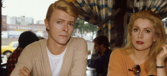 Catherine Deneuve e David Bowie Love and Horror Miriam e John Blaylock Fonte hanghimonmywalltumblrcom