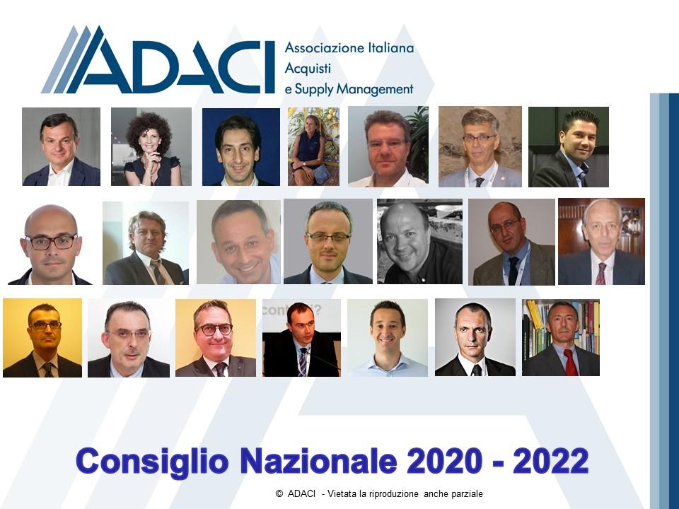 Consiglio Nazionale 2020 - 2022