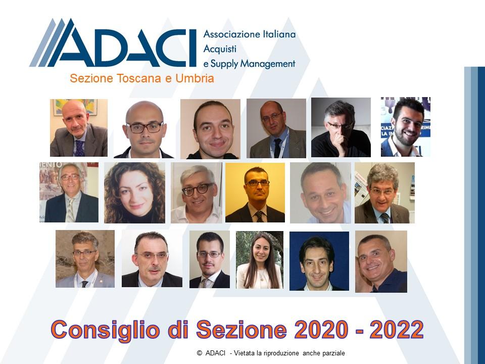 Consiglio Sezione Toscana 2020 - 2022