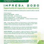 Locandina invito Impresa 2020 - Torino 21 Novembre 2019
