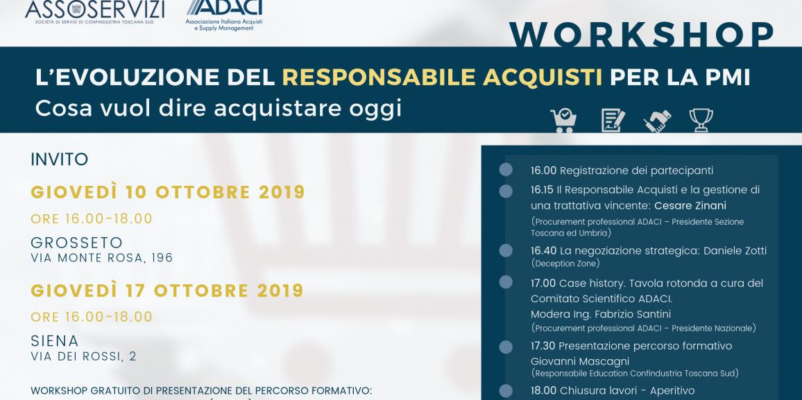Workshop Assoservizi Toscana Sud Siena Grosseto ADACI